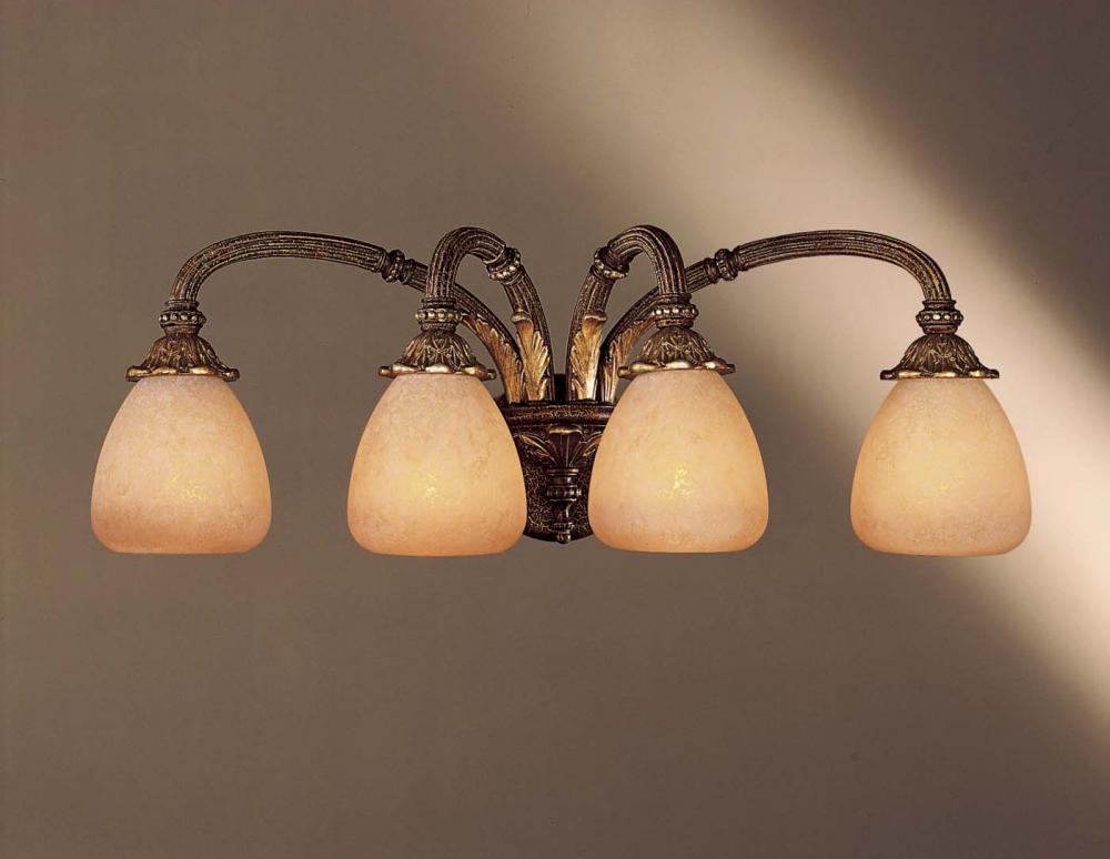 Four Light Bronze Vanity : 5814-355 | Dekker Lighting