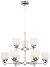 Minka-Lavery 1509-613 - 9 Light Chandelier