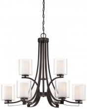 Minka-Lavery 4109-172 - 9 Light Chandelier
