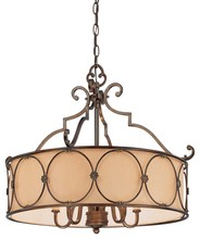 Minka-Lavery 4236-288 - 5 Light Chandelier