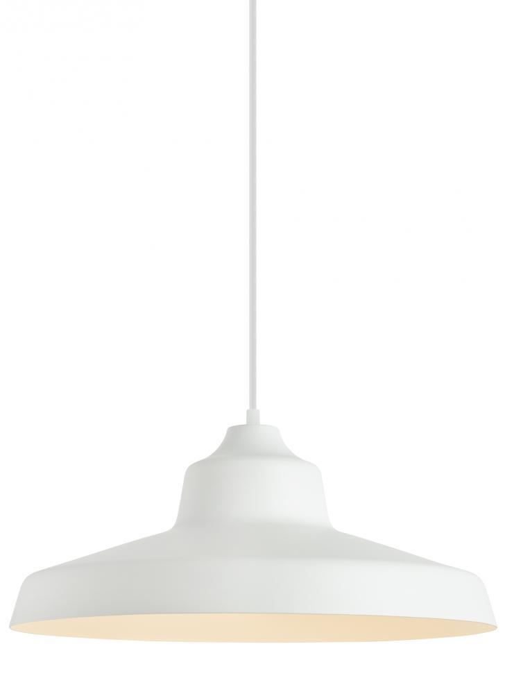 Zevo pendant wh no lamp