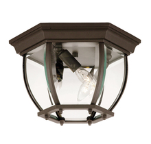 Savoy House 07038-BZ - Exterior Collections Flush Mount