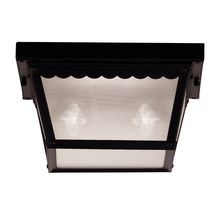 Savoy House 07045-BLK - Exterior Collections Flush Mount