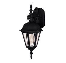 Savoy House 07075-BLK - Exterior Collections Wall Mount Lantern