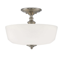 Savoy House 6-6835-2-SN - Melrose 2 Light Semi-Flush