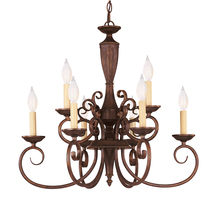 Savoy House KP-1-5007-9-40 - Liberty 9 Light Chandelier