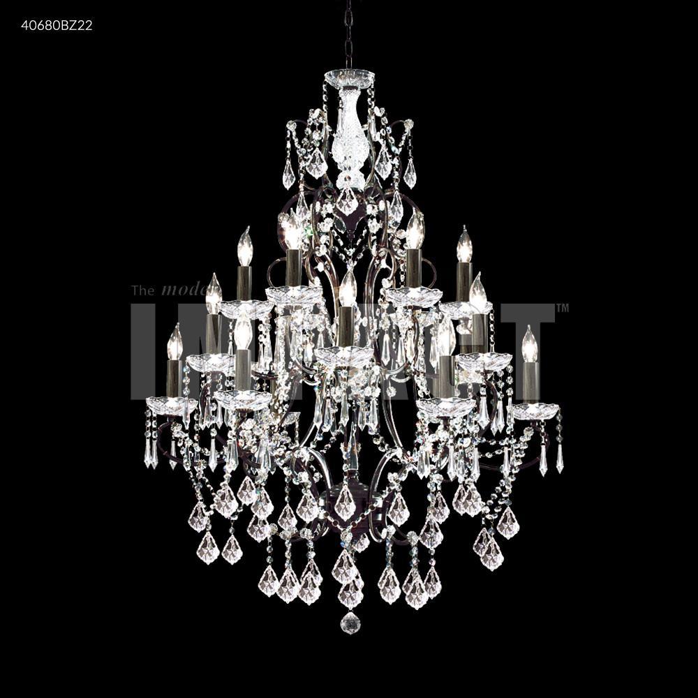 Charleston 18 arm chandelier 40680bz22 dekker lighting charleston 18 arm chandelier mozeypictures Images