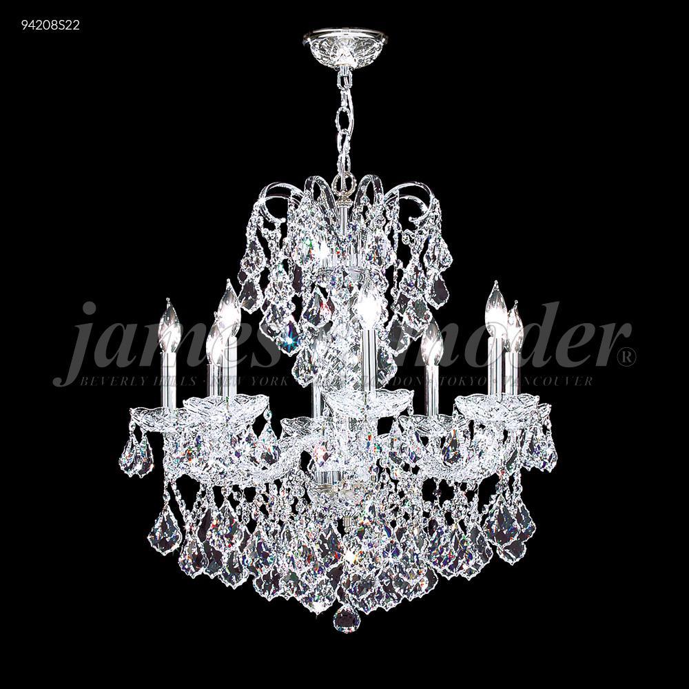 Vienna 8 glass arm chandelier 94208s22 dekker lighting vienna 8 glass arm chandelier aloadofball Images