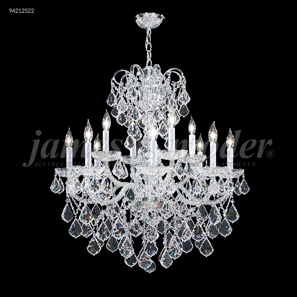 Vienna 12 glass arm chandelier 94212s22 dekker lighting vienna 12 glass arm chandelier aloadofball Images