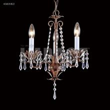 Mini 3 Arm Chandelier : 40853S22 | Dekker Lighting