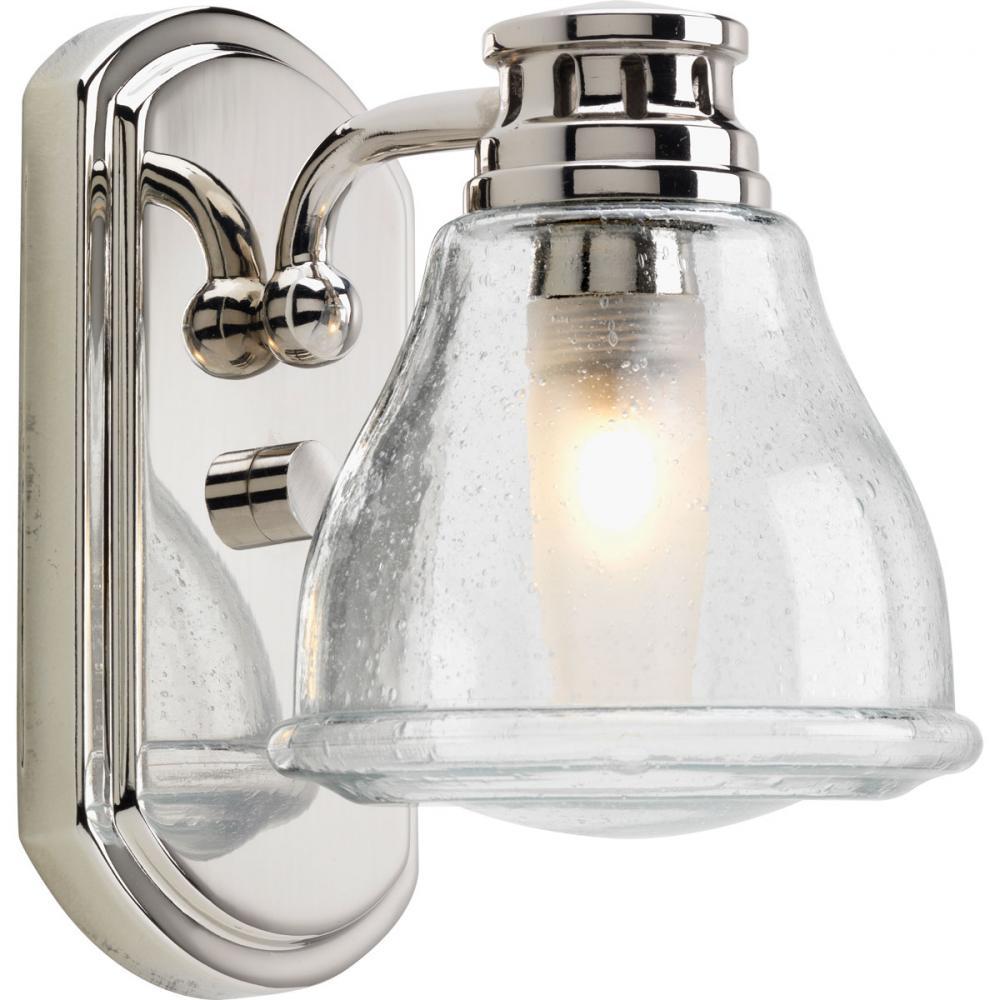 1-Lt. Polished Chrome Bath Light : P2810-15WB   Dekker Lighting