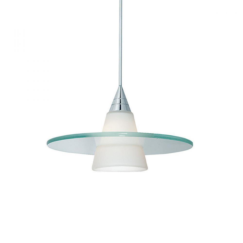 Obo Quick Connect Pendant White Shade With Chrome Socket Set Wiring Light Bulb Sockets Together How To Wire A Ceiling