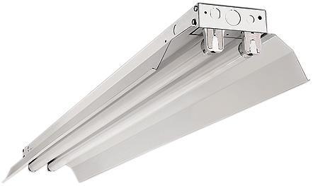 Industrial strip w reflectors ind232w30mv dekker lighting industrial strip w reflectors aloadofball Image collections