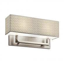 Kichler 10696SN - Wall Sconce 2Lt Fluorescent
