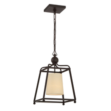 Crystorama 2240-DB - Libby Langdon for Crystorama Sylvan 1 Light Dark Bronze Pendant