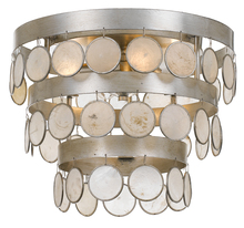 Crystorama 6000-SA - Crystorama Coco 4 Light Antique Silver Ceiling Mount