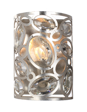 Crystorama 7581-DT - Crystorama Sterling 1 Light Distressed Twilight Sconce