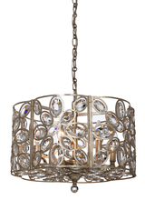 Crystorama 7586-DT - Crystorama Sterling 6 Light Distressed Twilight Chandelier