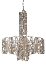 Crystorama 7589-DT - Crystorama Sterling 10 Light Distressed Twilight Chandelier