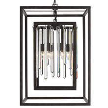 Crystorama 8409-FB - Crystorama Hollis 8 Light Bronze Chandelier