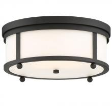 Crystorama SYL-2283-BF - Libby Langdon for Crystorama Sylvan Outdoor 3 Light Ceiling Mount
