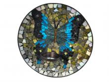Dale Tiffany AV15424 - Butterfly Mosaic Candle Holder