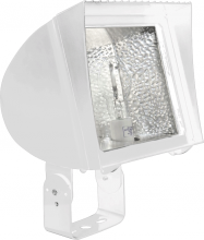 RAB Lighting FXLH350TPSQW - FLEXFLOOD XL 350W MH PSQT HPF PULSE START TRUNNION LAMP WHT