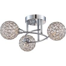 Quoizel PCSR1716C - Platinum Collection Shimmer Semi-Flush Mount