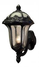 Special-Lite F-1717-BLK-SG - Rose Garden F-1717-BLK-SG Small Bottom Mount Light with Seedy Glass