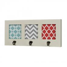 Sterling Industries 129-1103 - Chevron Print Wall Hook