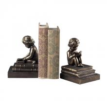 Sterling Industries 93-10059/S2 - STUDY TIME BOOKENDS