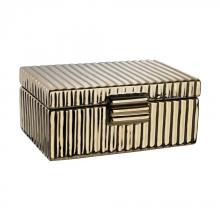 Dimond 167-008 - Ceramic Golden Jewelry Box