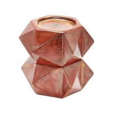 Dimond 857129/S2 - Large Ceramic Star Candle Holders In Russet - Se