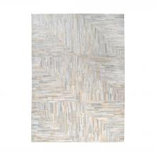 Dimond 8905-365 - Karim Hand Stitched Leather Patchwork Rug 6x6