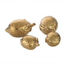 Dimond 9167-025/S4 - Gold Ceramic Lemons